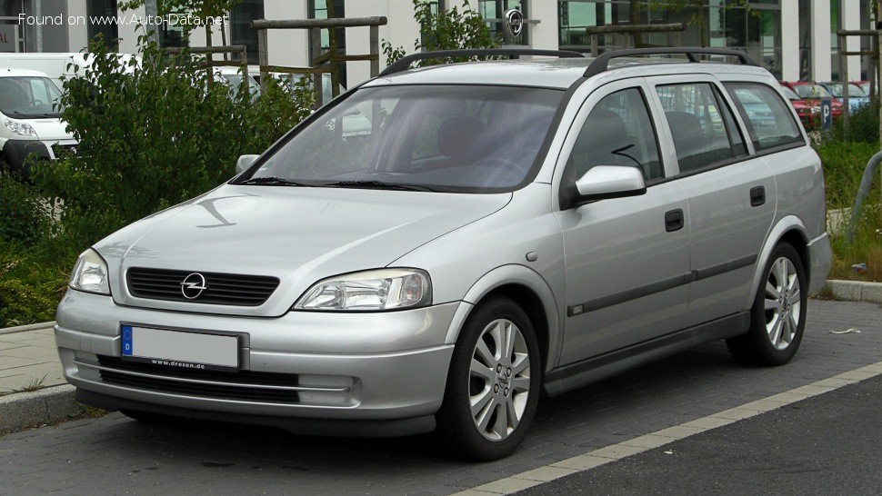 1999 Opel Astra G Caravan - Photo 1
