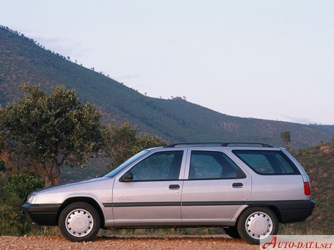Citroen ZX Break (N2) - Technical Specs, Fuel consumption, Dimensions
