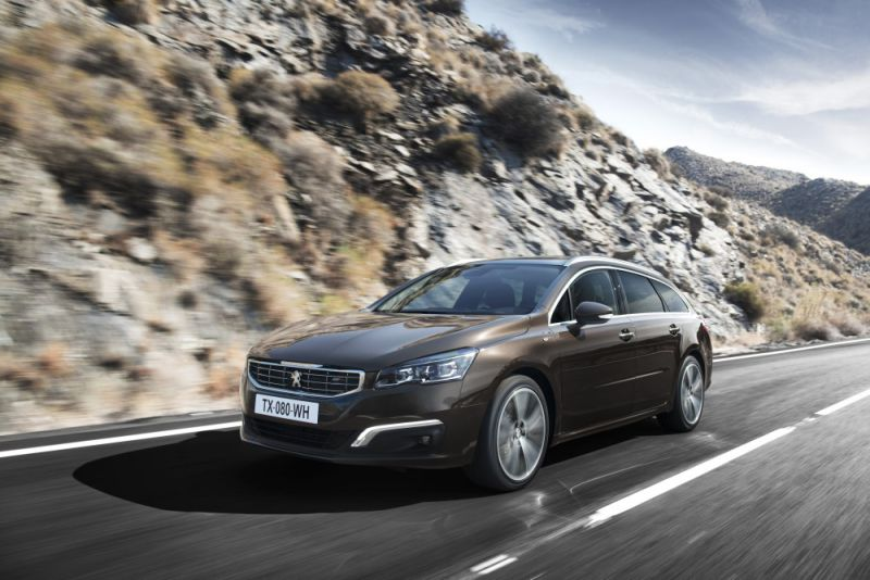 Peugeot 508 SW (facelift 2014) - Photo 1
