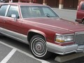Technical specifications and fuel economy of Cadillac Brougham