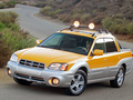 Technical specifications and fuel economy of Subaru Baja