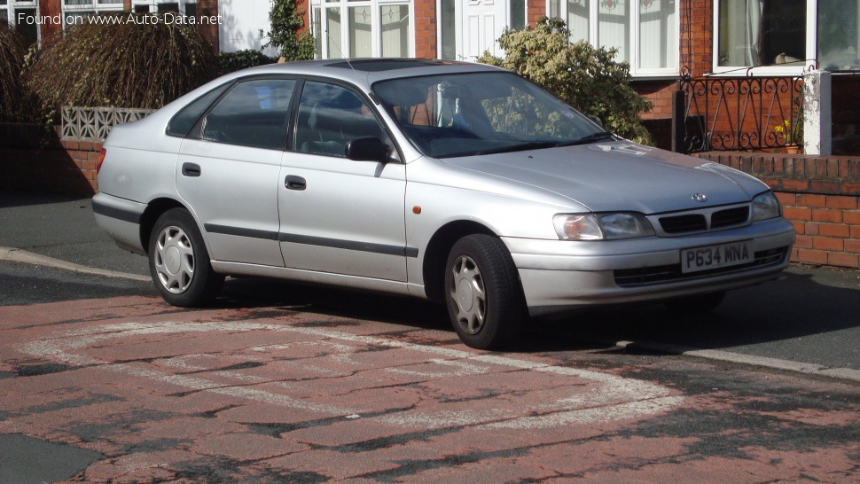 Toyota Carina Technical Specifications Fuel Economy Consumption