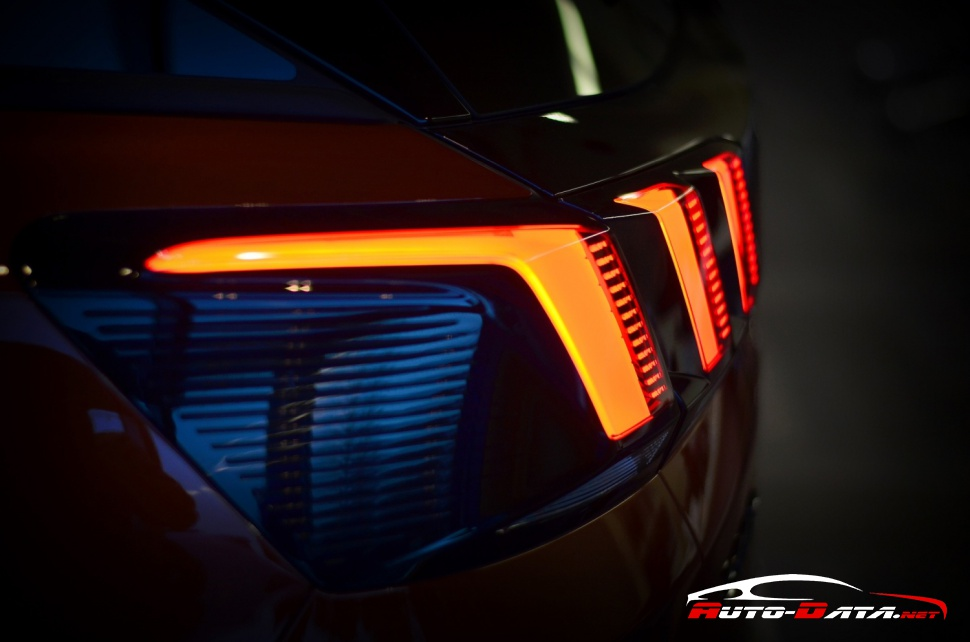 Peugeot tail lights