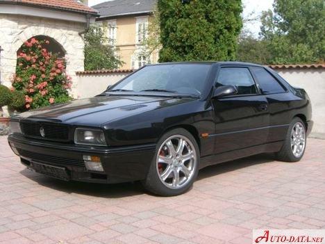 1992 Maserati Ghibli II 2.8 24V Biturbo (284 Hp ...