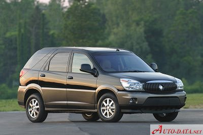 Buick RendezVous 3.5 i V6 AWD (198 Hp) - Fiche technique, Consommation de carburant, Dimensions