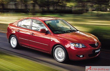 Mazda   3 I Sedan (BK)   1.6i (105 Hp) Automatic   Technical  Specifications, Fuel Economy (consumption)