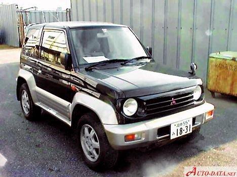 Mitsubishi Pajero Junior 1 1 (80 Hp) | Technical specs, data, fuel