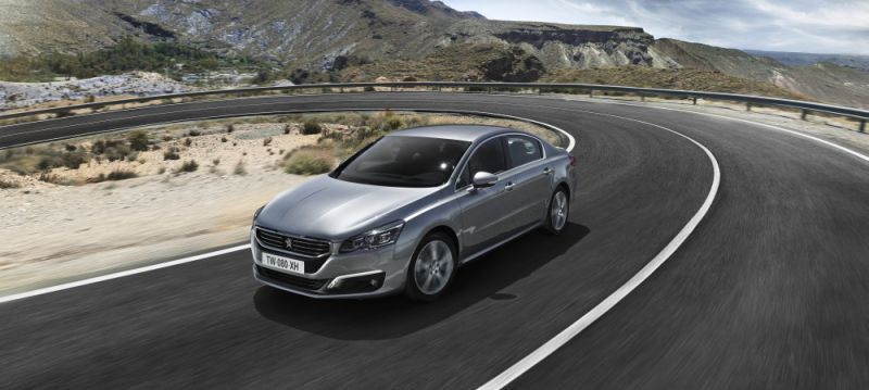 Peugeot 508 (facelift 2014) 1.6 e-HDi (115 Hp) FAP - Fiche technique, Consommation de carburant, Dimensions