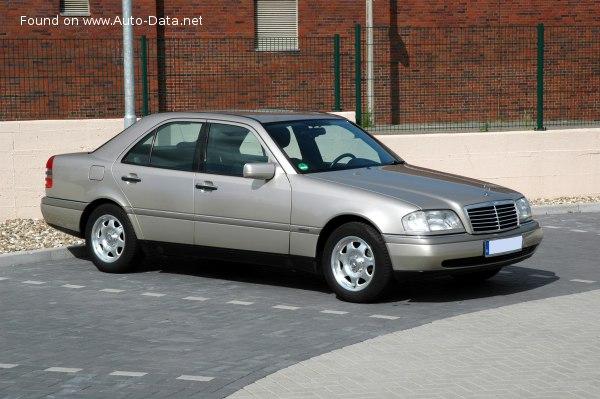 1993 Mercedes Benz C Class W202 C 250 D 113 Hp Technical Specs Data Fuel Consumption Dimensions