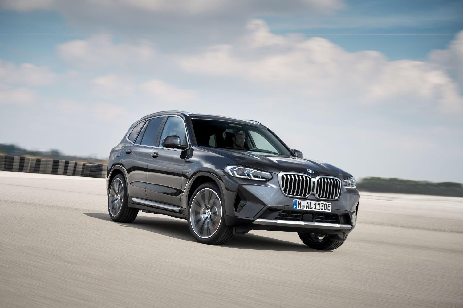 2021 BMW X3 (G01 LCI, facelift 2021) M40d (340 PS) MHEV ...