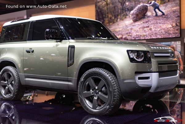 2020 Land Rover Defender 90 3.0 D200 (200 Hp) MHEV AWD ...