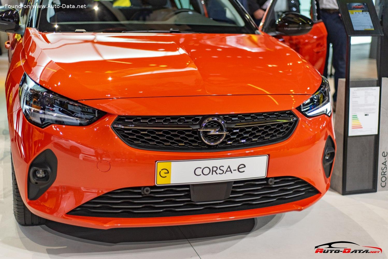 2019 Opel Corsa F 5-door E 50 kWh (136 Hp) Automatic ...