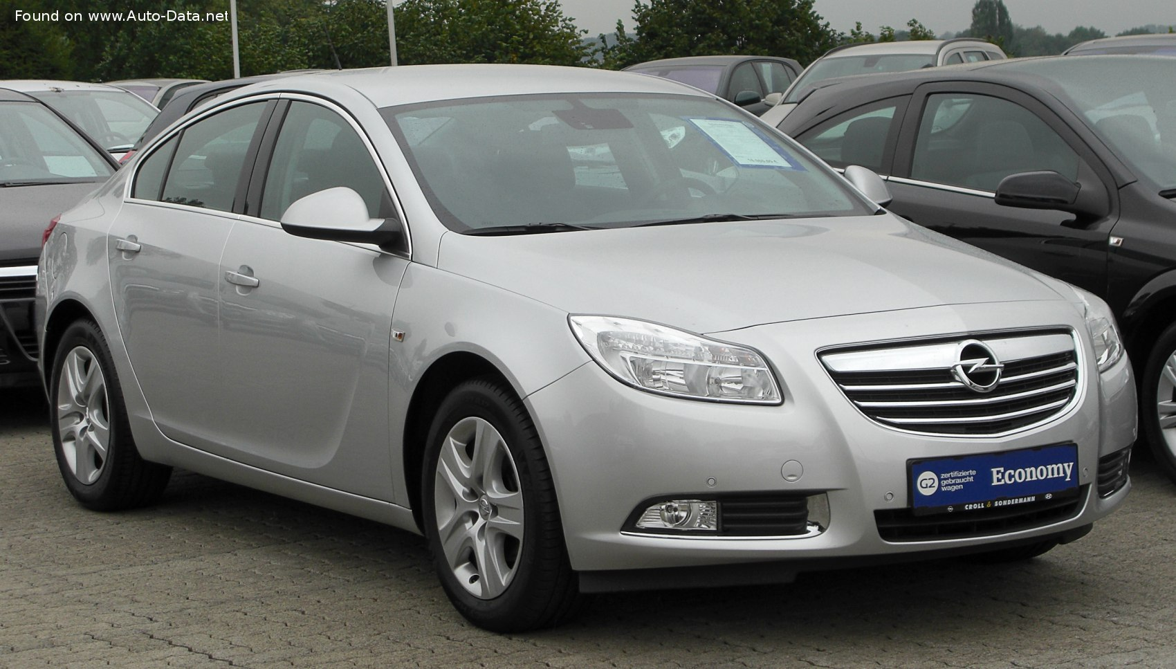 2008 Opel Insignia Sedan A 2 0 Cdti 160 Hp Dpf Automatic Technical Specs Data Fuel Consumption Dimensions