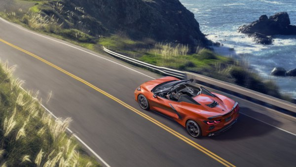 Chevrolet Corvette Convertible (C8) Stingray 6.2 V8 (495 Hp) Automatic - Technical Specs, Fuel consumption, Dimensions