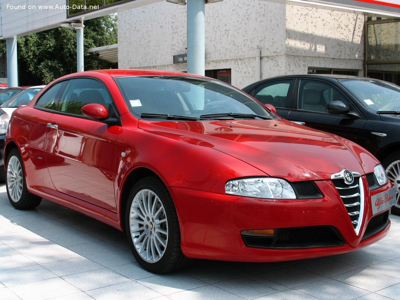 2003 Alfa Romeo Gt Coupe 3 2 I V6 24v Gta 240 Hp Technical Specs Data Fuel Consumption Dimensions