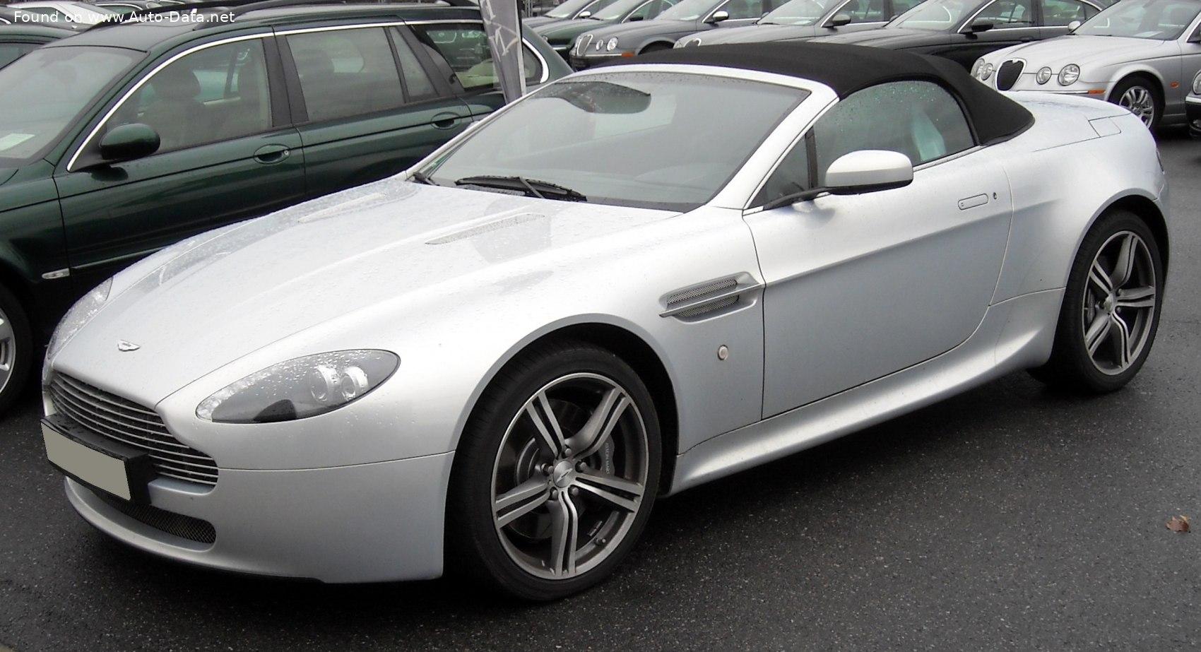 2006 Aston Martin V8 Vantage Roadster 2005 Technische Daten Verbrauch Maße
