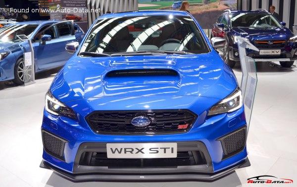 2018 Subaru Wrx Sti Facelift 2018 2 5 300 Hp Awd Technical Specs Data Fuel Consumption Dimensions