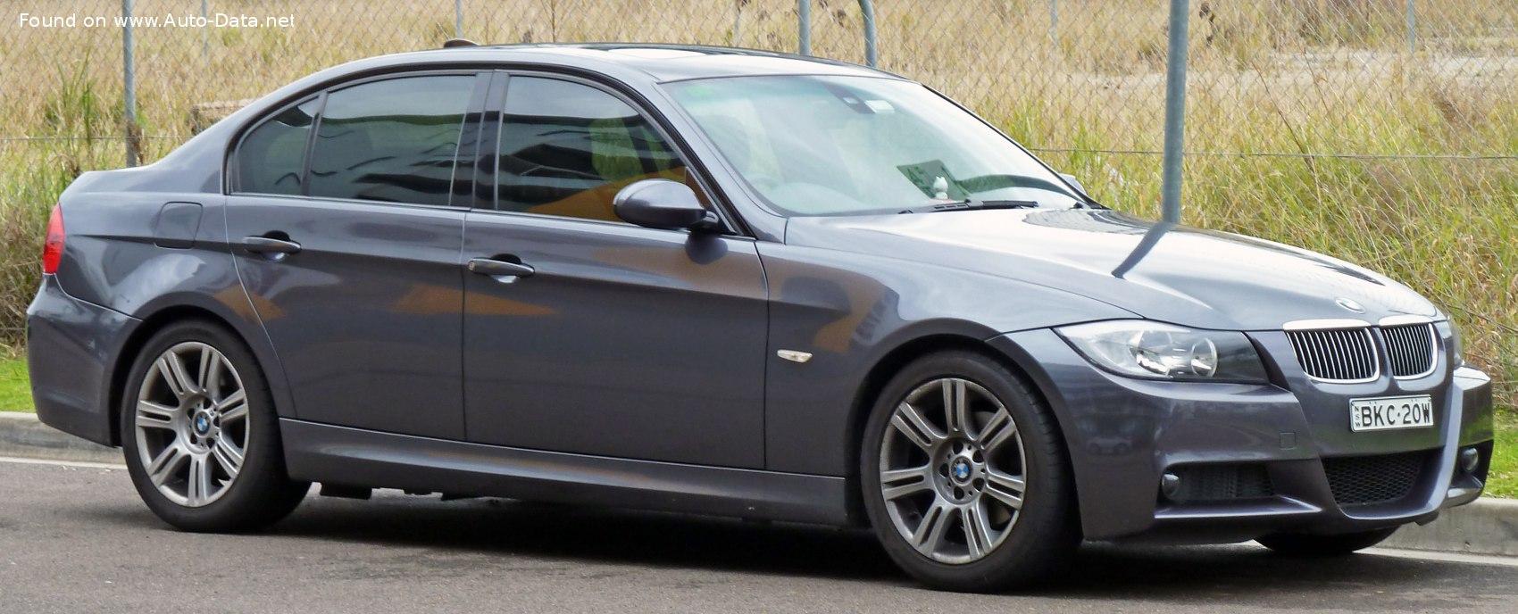 2005 Bmw 3 Series Sedan E90 318i 129 Hp Technical Specs Data Fuel Consumption Dimensions