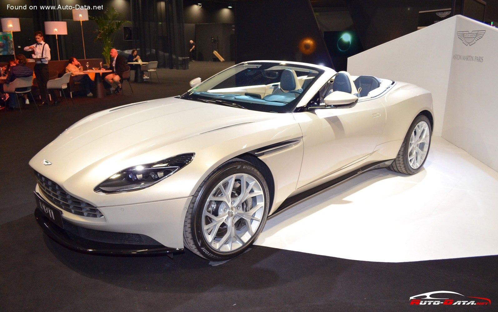 Aston Martin Db11 Technical Specs Fuel Consumption Dimensions