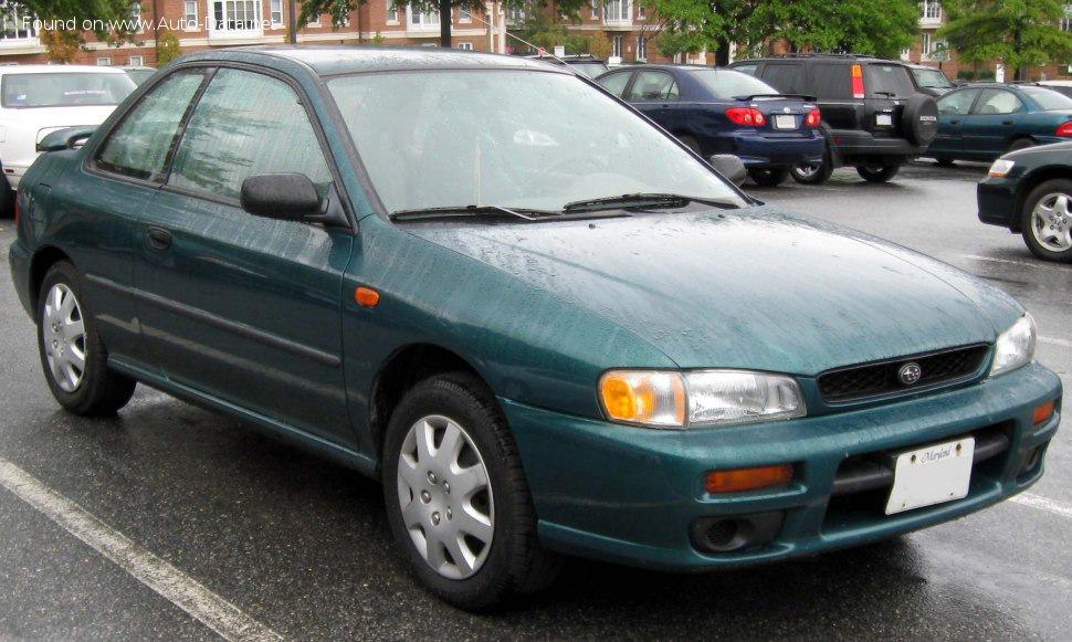 Subaru Impreza I Coupe  Gfc  1 6  90 Hp  4wd