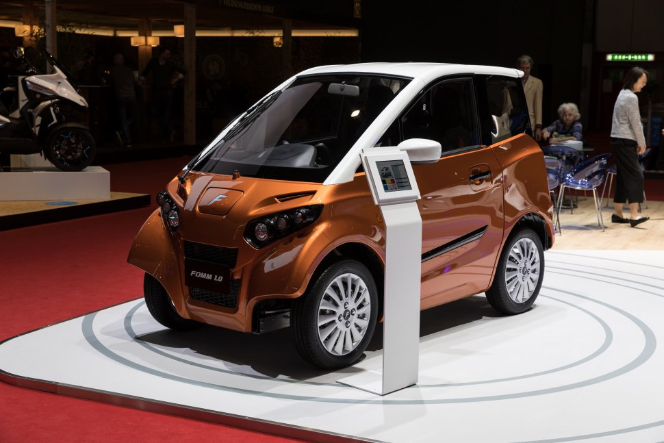 FOMM Concept ONE debuts at Swiss GIMS 2018