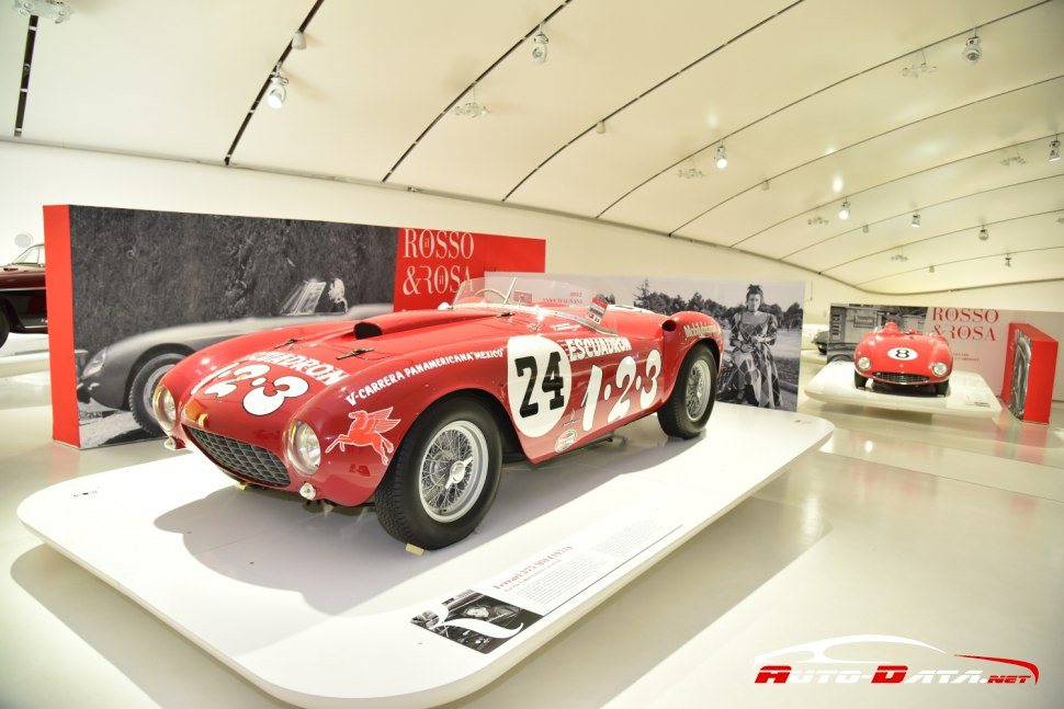 Ferrari 375 MM at Enzo Ferrari's museum in Modena