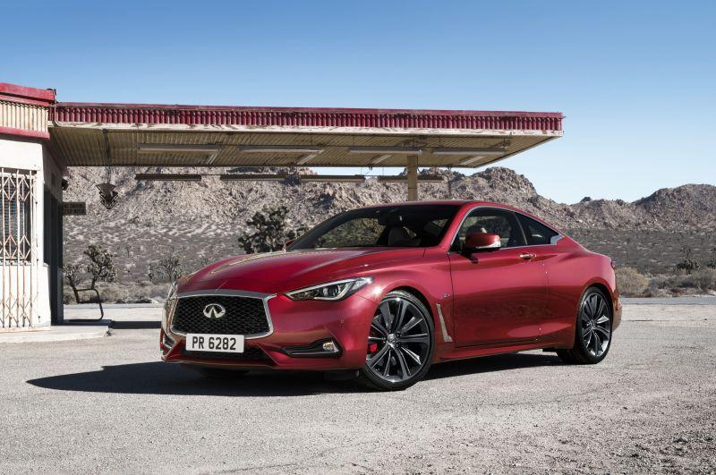 2017 Infiniti Q60 2 0 T >> Infiniti Q60 Ii Coupe Red Sport 3 0t V6 400 Hp Awd