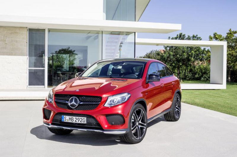 Mercedes-Benz - GLE coupe (C292)