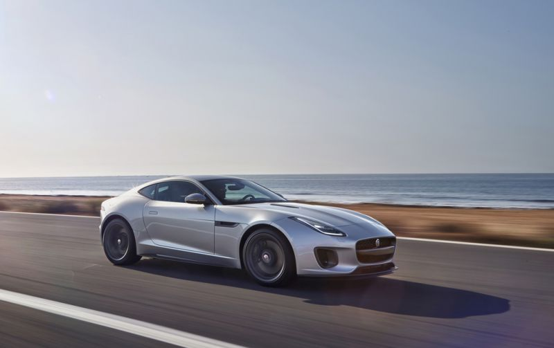 Jaguar F-type Coupe (facelift 2017) - Фото 1