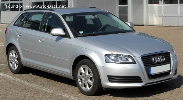 2008 Audi A3 Sportback (8PA, facelift 2008) - Photo 1