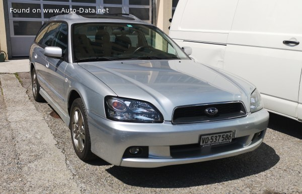 2001 Subaru Legacy III Station Wagon (BE,BH, facelift 2001) - Bild 1