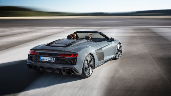 Audi R8 II Spyder (facelift 2019) 5.2 FSI V10 (540 Hp) S tronic - Technical Specs, Fuel consumption, Dimensions