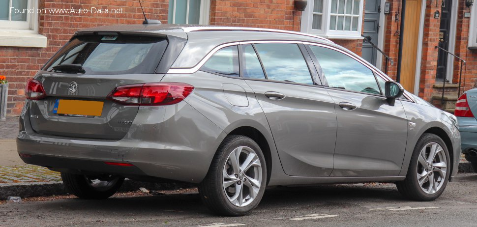 Vauxhall Astra Mk VII Sports Tourer - Technical Specs, Fuel consumption, Dimensions