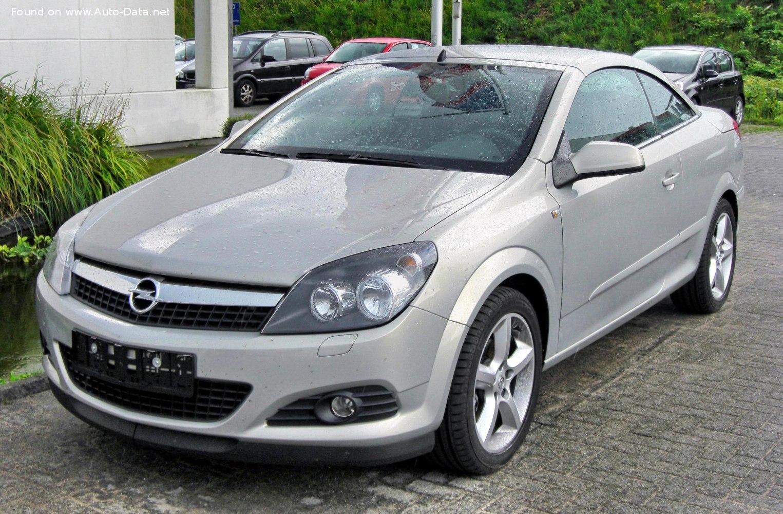 2006 Opel Astra H TwinTop 2.0i 16V Turbo ECOTEC (200 кс