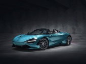 The supercar McLaren 720S Spider officially met the world