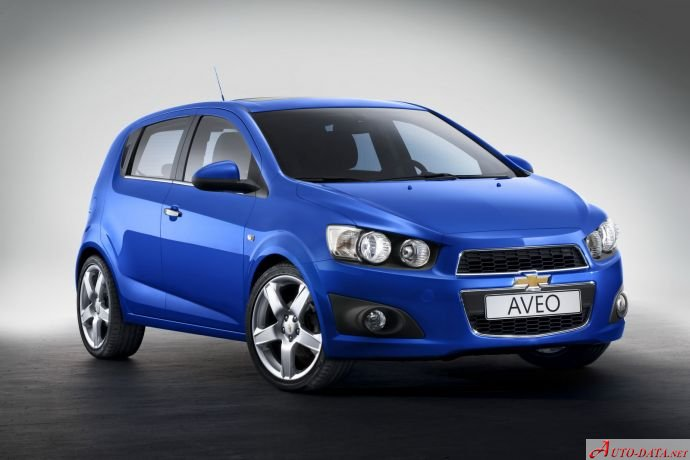 2011 Chevrolet Aveo Ii Hatchback 1 4 100 Hp Automatic Technical Specs Data Fuel Consumption Dimensions