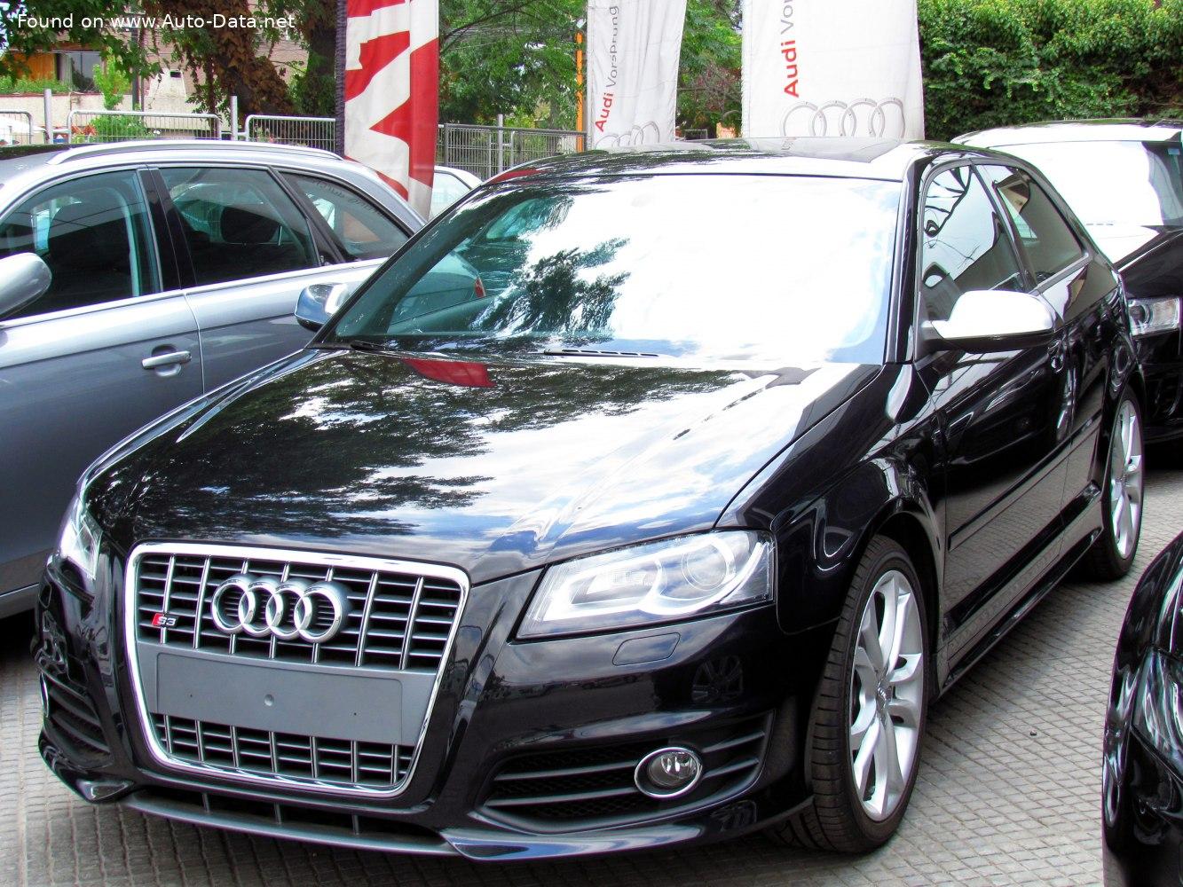 2008 Audi S3 (8P, facelift 2008) | Technical Specs, Fuel ...