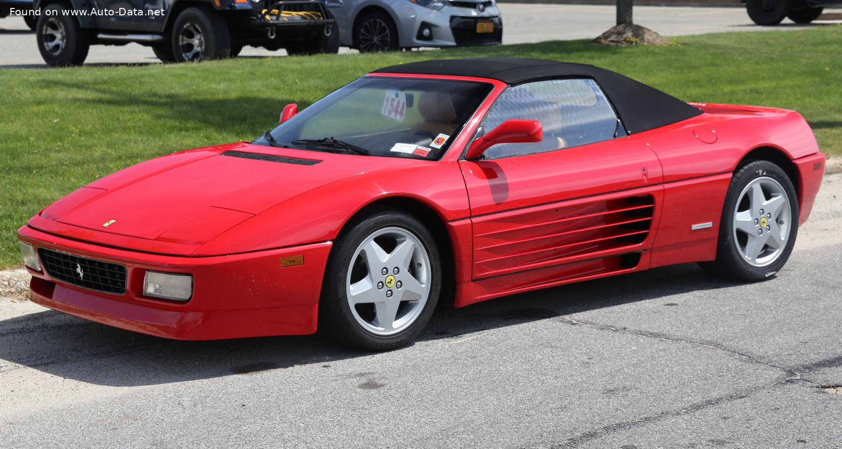 1993 Ferrari 348 Spider 3 4 V8 320 Hp Technical Specs Data Fuel Consumption Dimensions