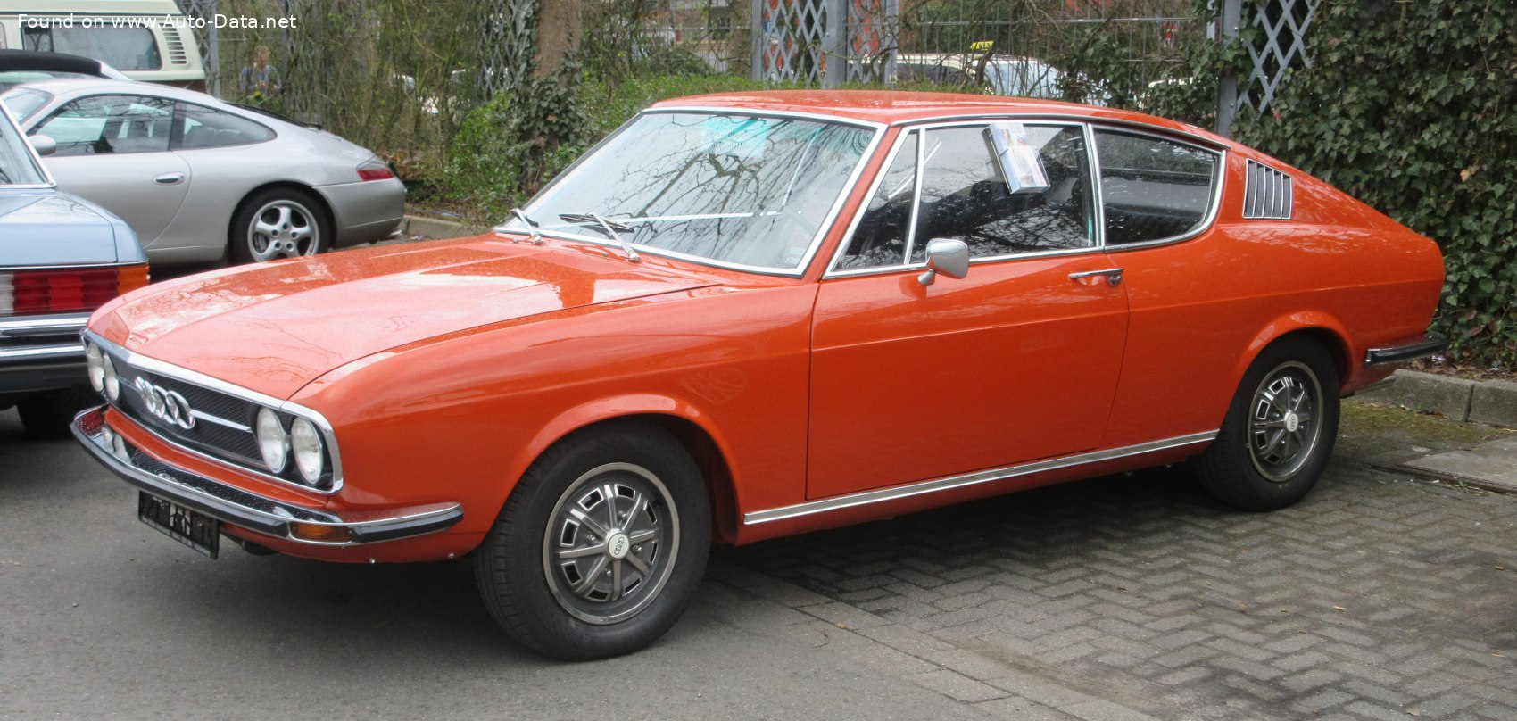 1970 Audi 100 Coupe S 1.9 (116 Hp)   Technical specs, data ...