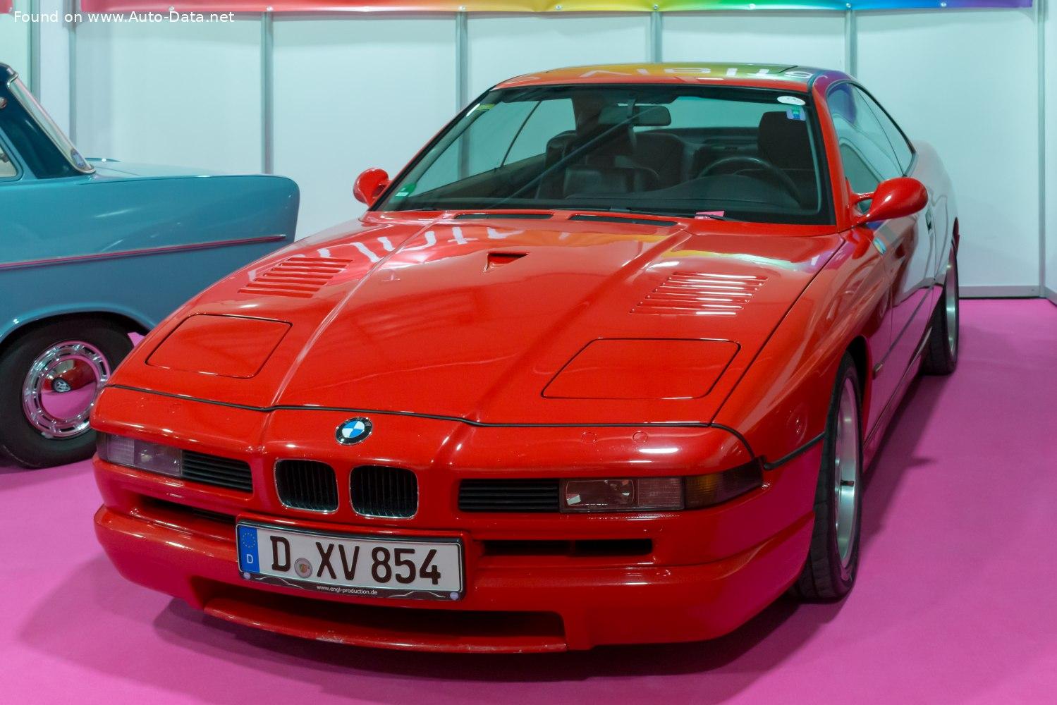 1992 Bmw 8 Series E31 850 Csi 5 6 380 Hp Technical Specs Data Fuel Consumption Dimensions