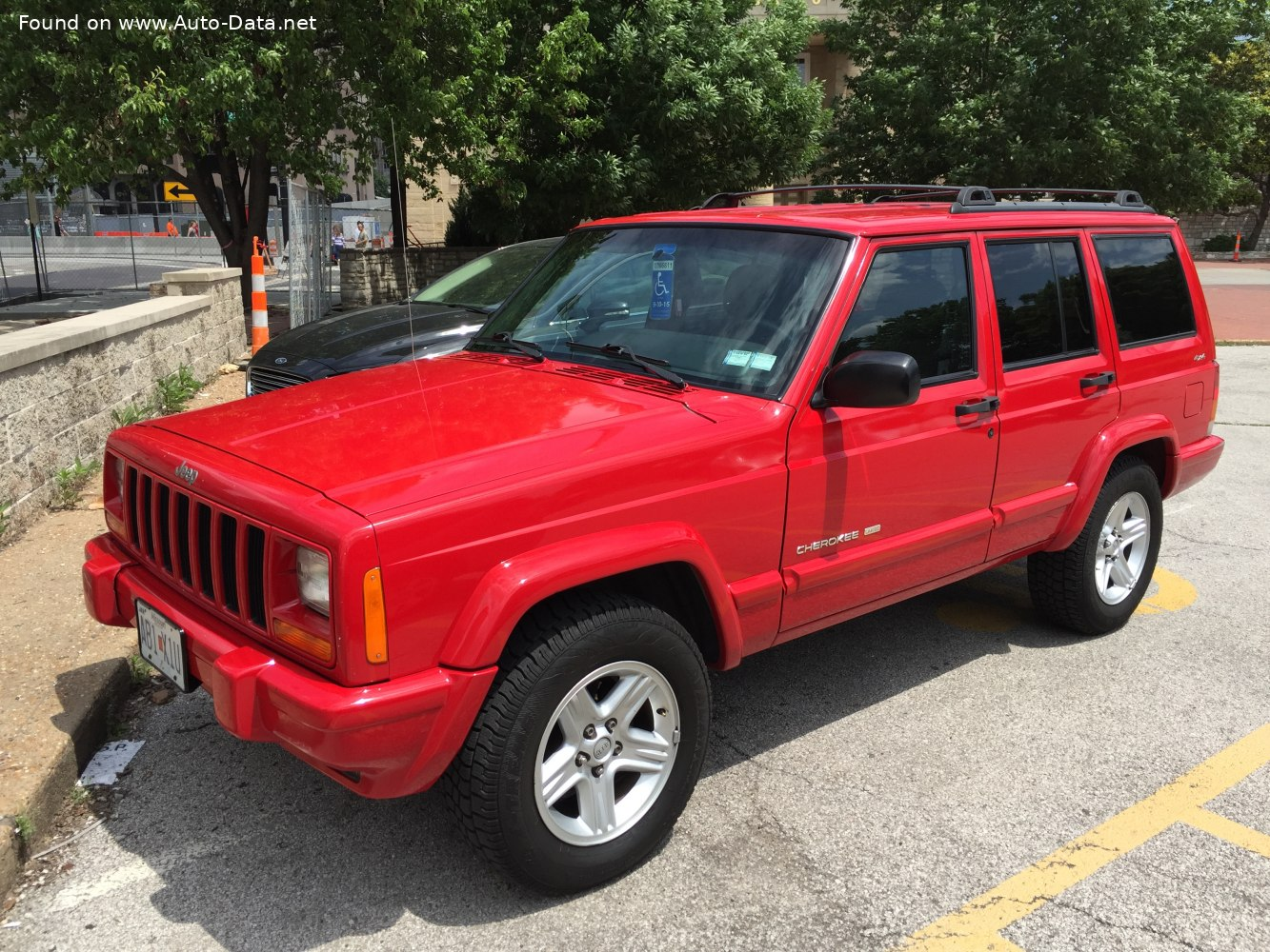 1999 Jeep Cherokee Ii Xj 4 0 I Sport 192 Hp Technical Specs Data Fuel Consumption Dimensions
