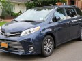 Toyota Sienna III (facelift 2018) - Technical Specs, Fuel consumption, Dimensions