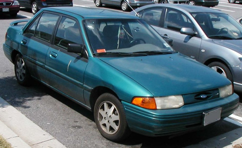 1991 Ford Escort II (USA) - εικόνα 1