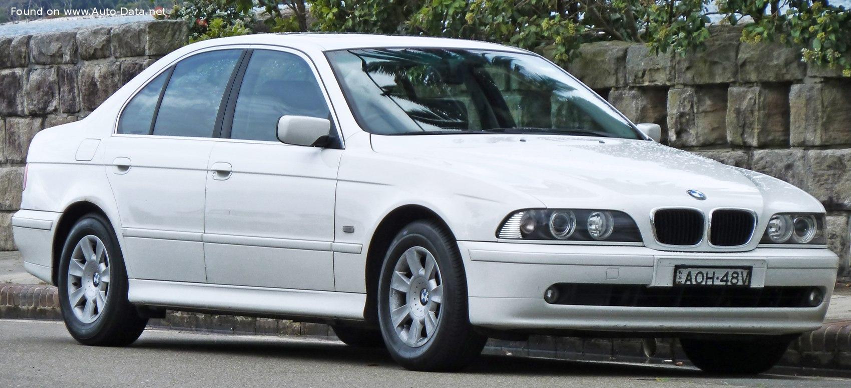 2000 Bmw 5 Series E39 Facelift 2000 525d 163 Hp Technical Specs Data Fuel Consumption Dimensions