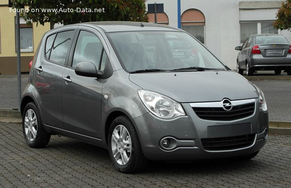2008 Opel Agila II - Photo 1
