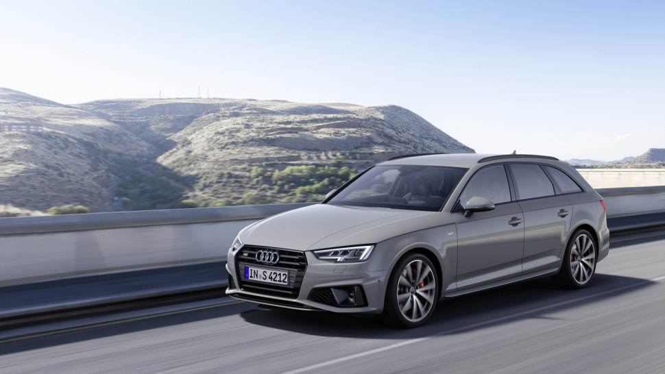 Audi S4 Avant TDI 2019 front side view