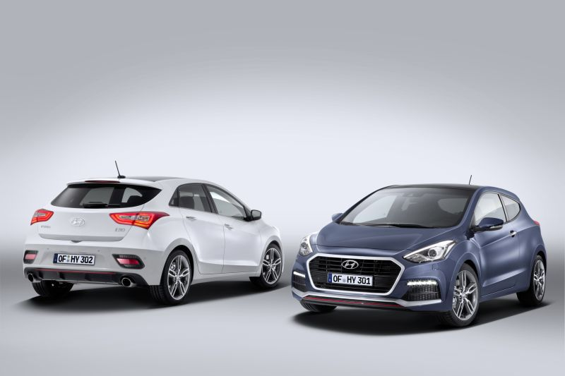 Hyundai i30 II Coupe (facelift 2015) 1.6 GDI (135 Hp) DCT blue - Technical Specs, Fuel consumption, Dimensions