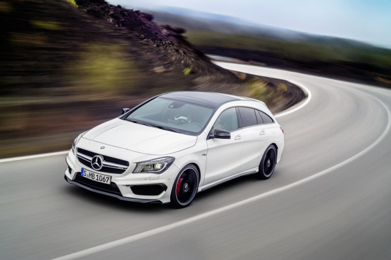 Mercedes Benz Cla Shooting Brake X117 Cla 180 122 Hp