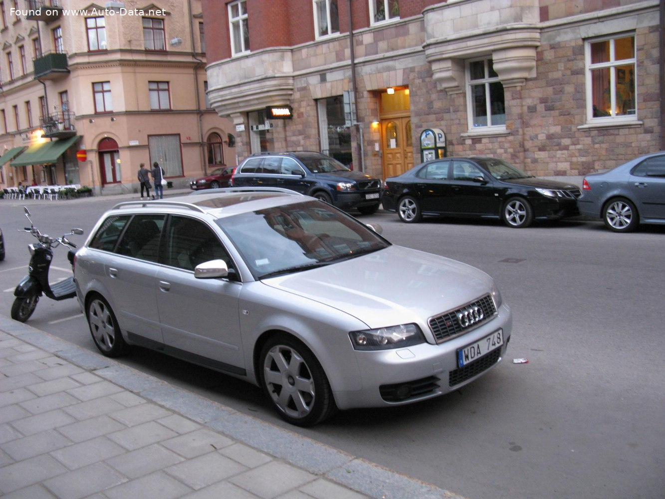 2003 Audi S4 Avant 8e B6 4 2i V8 344 Hp Quattro Technical Specs Data Fuel Consumption Dimensions