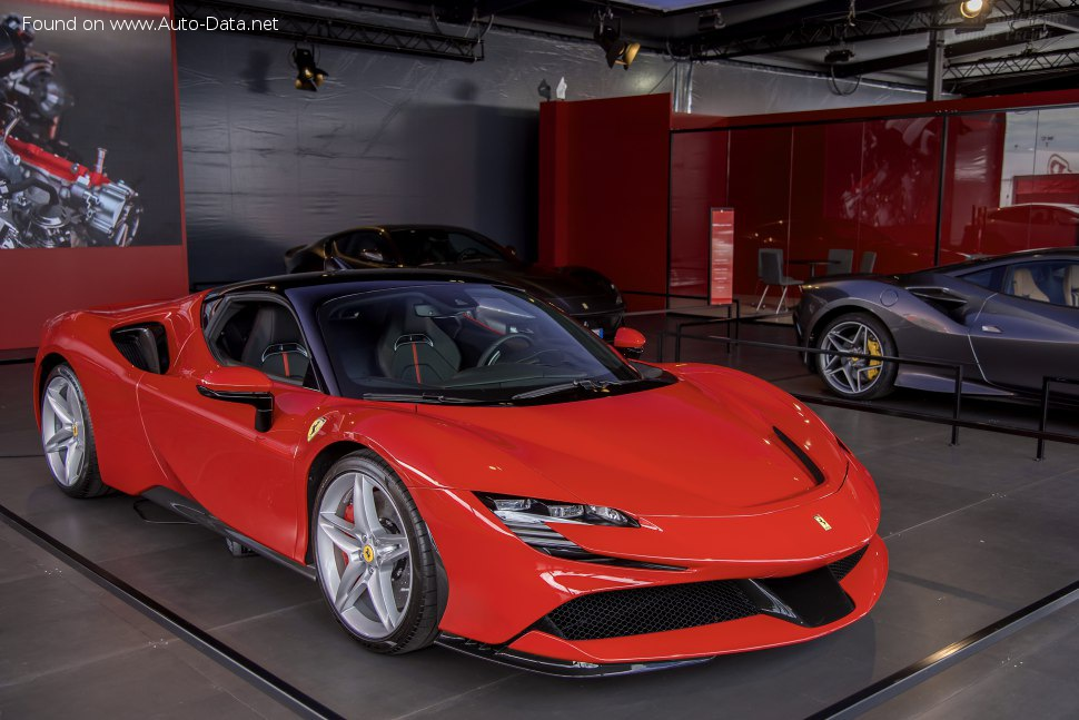 2019 Ferrari Sf90 Stradale 4 0 V8 1000 Hp Plug In Hybrid Automatic Technical Specs Data Fuel Consumption Dimensions